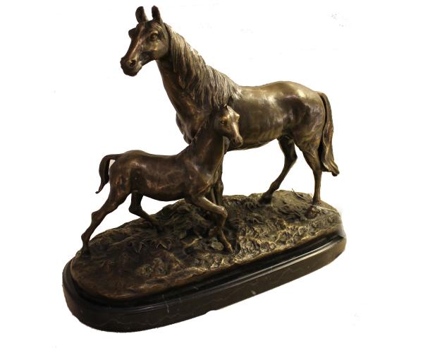 Figurabronce-caballos