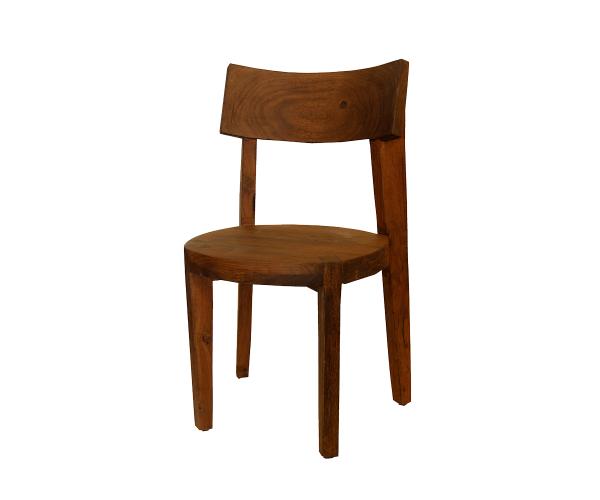 silla-madera-india