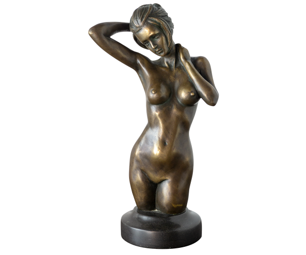 Busto-mujer-bronce