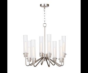 lampara-neo-chandelier-plateada