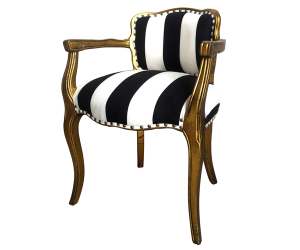 silla-dorada-negro1