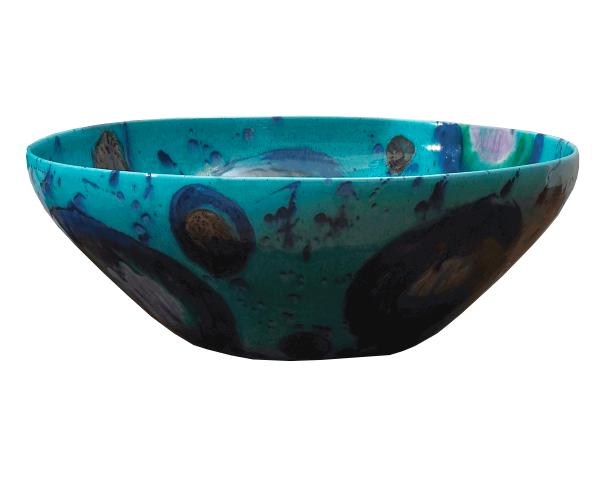 plato-azul-ceramica